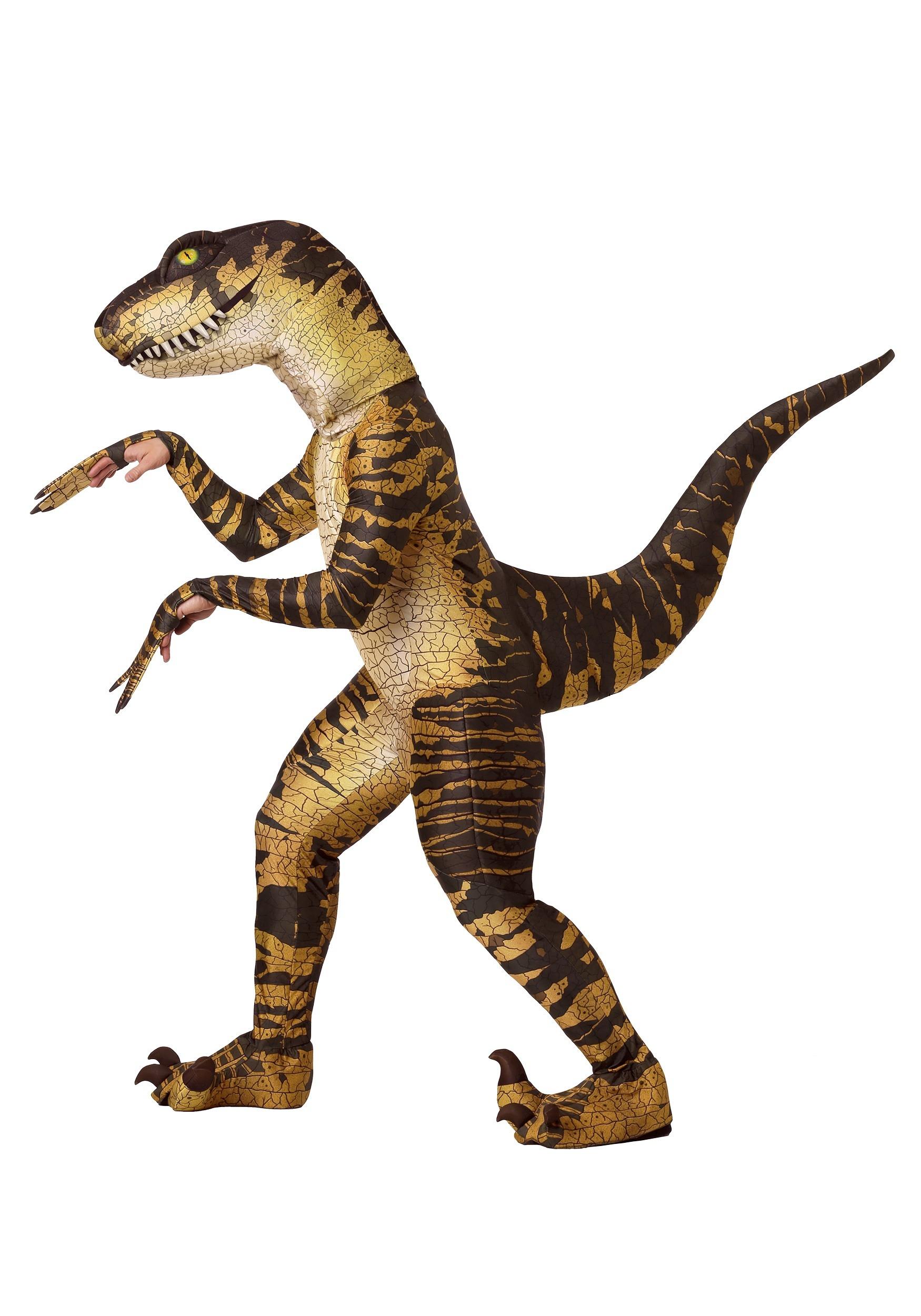 Adult Raptor Dinosaur Costume
