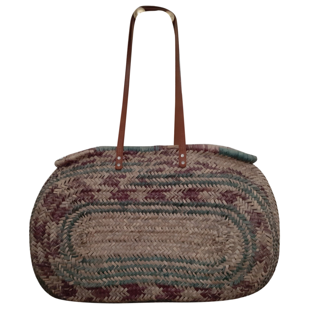 Non Sign?? / Unsigned \N Multicolour Wicker handbag for Women \N