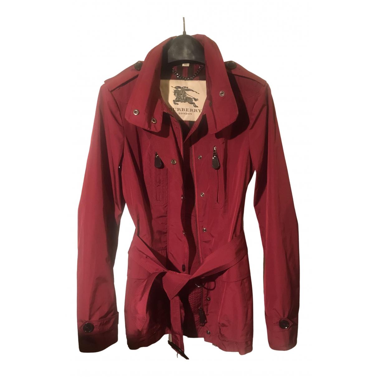 Burberry \N Red coat for Women 6 UK