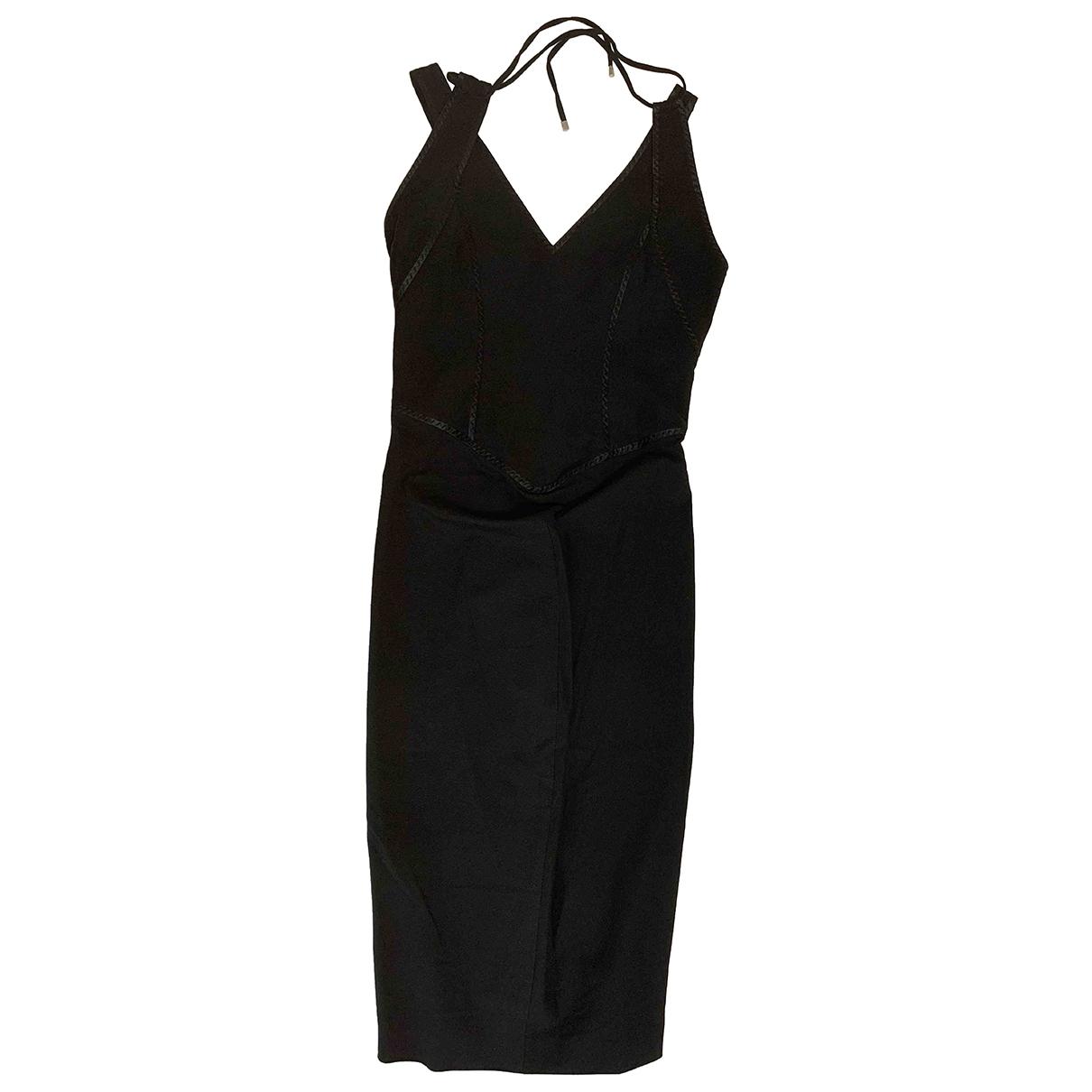 Sport Max \N Black Cotton dress for Women 40 IT