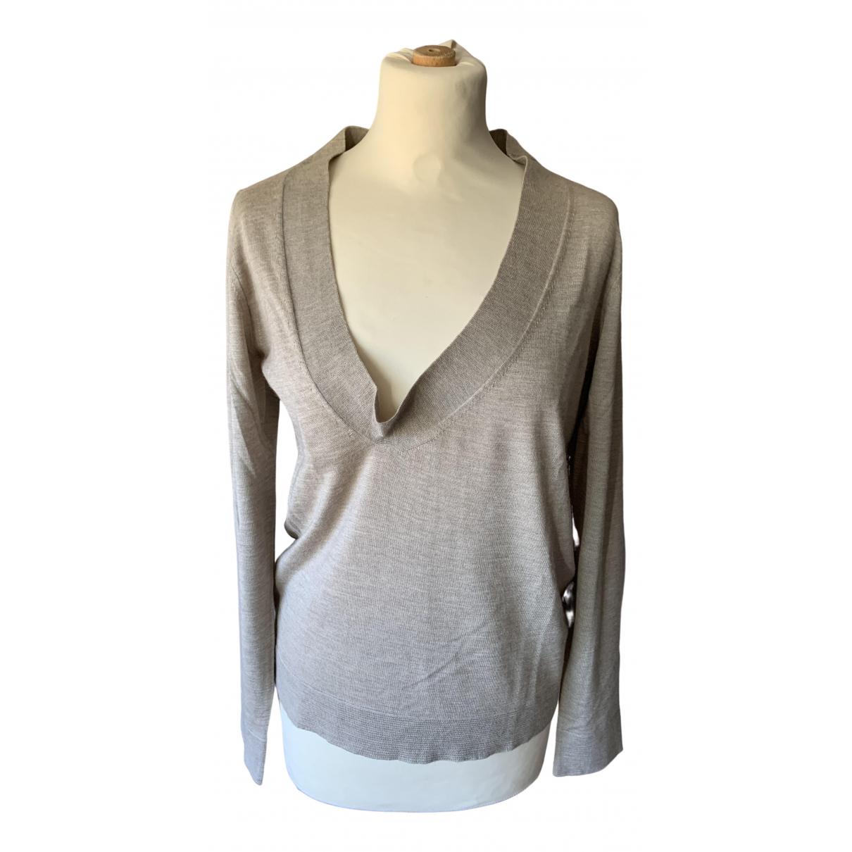Marni \N Beige Silk Knitwear for Women 40 IT