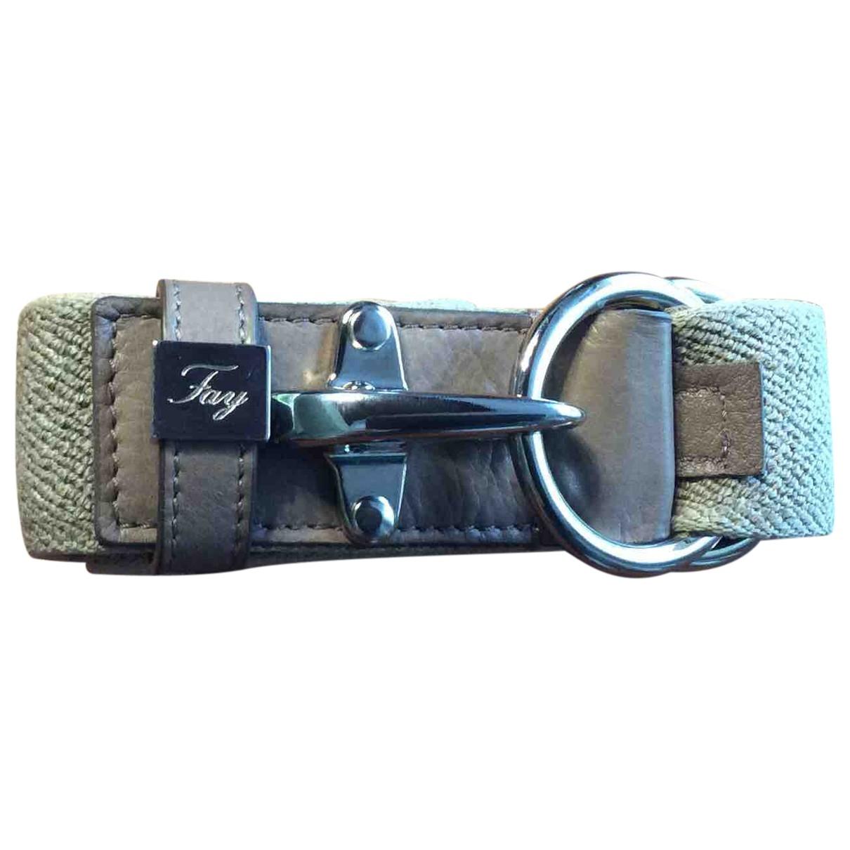 Fay \N Beige belt for Women XXS International