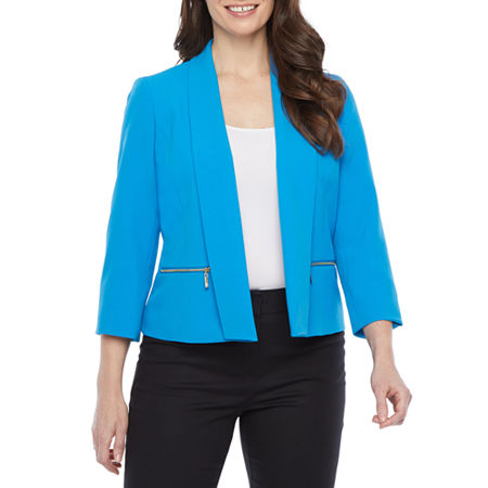 Black Label by Evan-Picone Suit Jacket, 14 , Blue