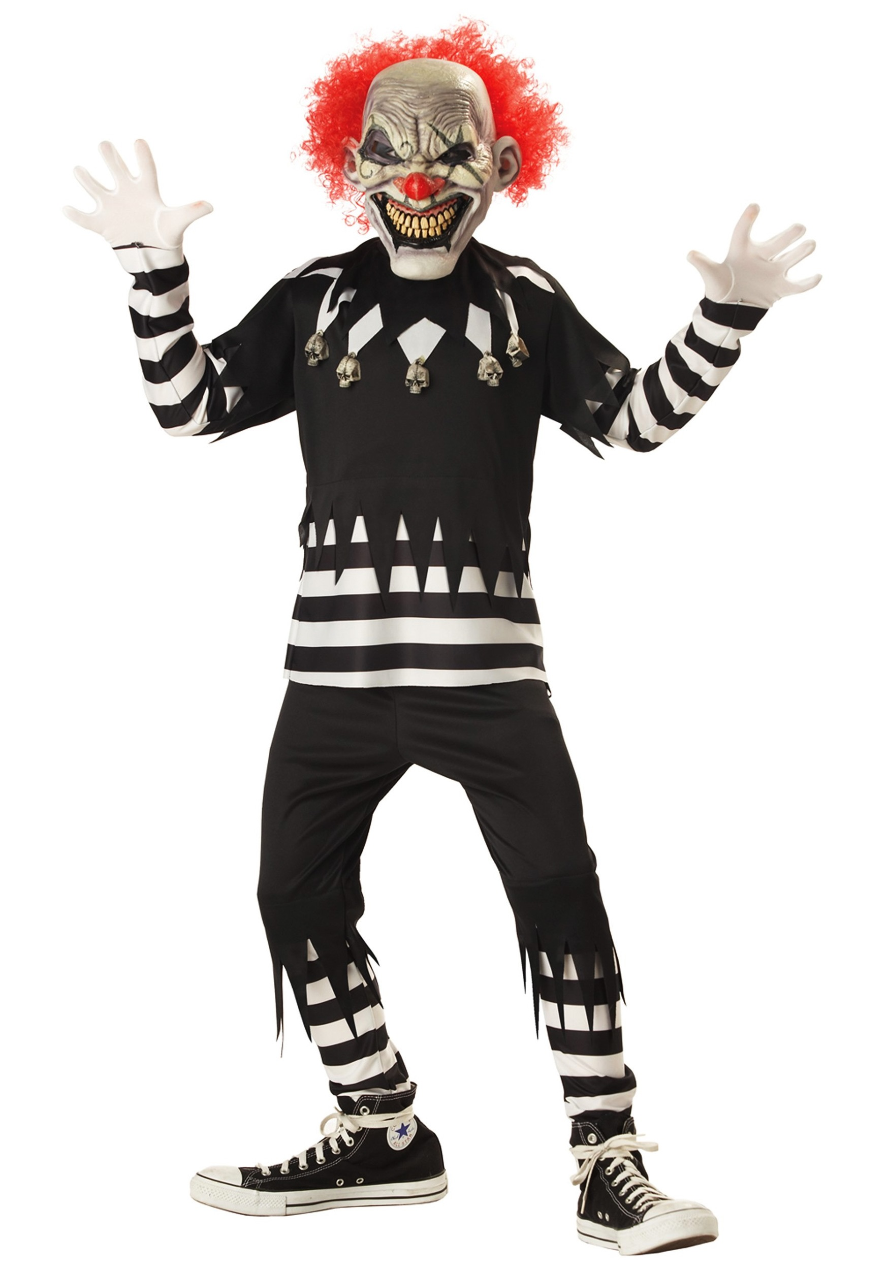 Psycho Clown Costume for Kids
