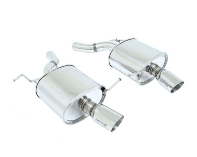 Megan Racing MR-ABE-BF06 Supremo Exhaust System (Stainless Rolled Tips) BMW F06 640i Gran Coupe 2012+