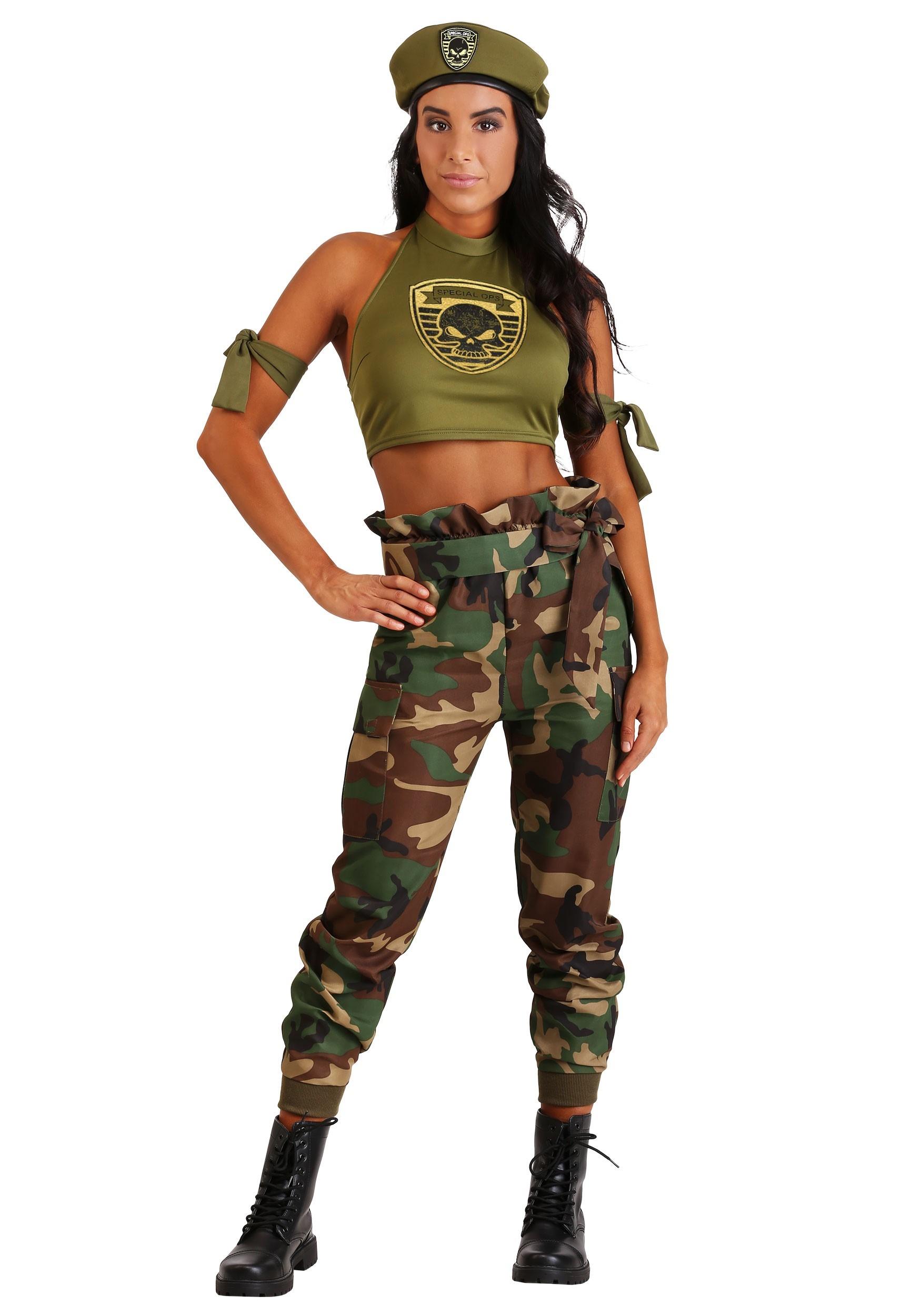Green Beret Beauty for Women