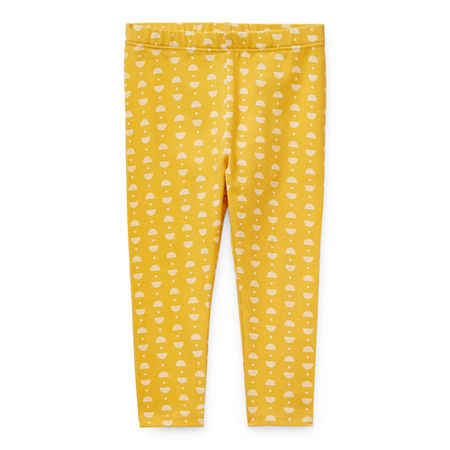 Okie Dokie Baby Girls Legging, 6 Months , Yellow
