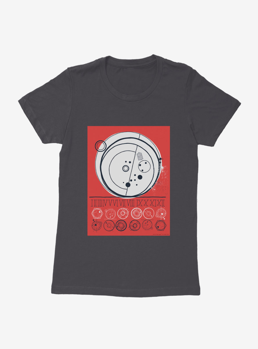 Doctor Who Time Vortex Womens T-Shirt