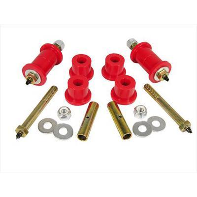 Prothane Motion Control Greaseable Main Spring Eye Bushing Kit (Red) - 1-1017