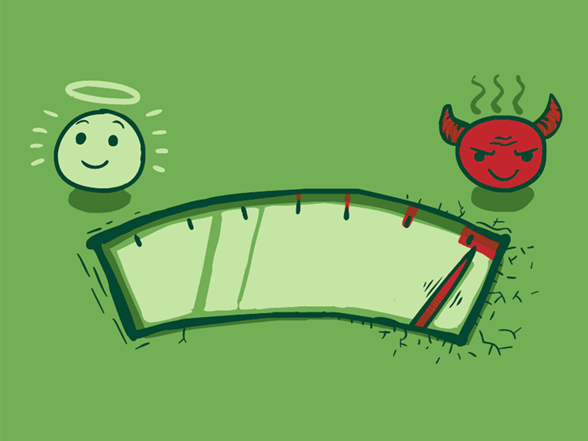 Evil-o-meter Is At Mission Critical T Shirt