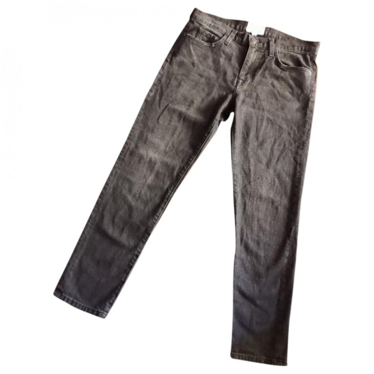 Current Elliott \N Black Denim - Jeans Jeans for Women 27 US