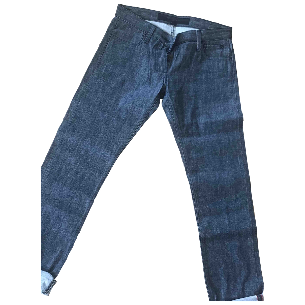Surface To Air \N Grey Cotton Jeans for Men 38 FR