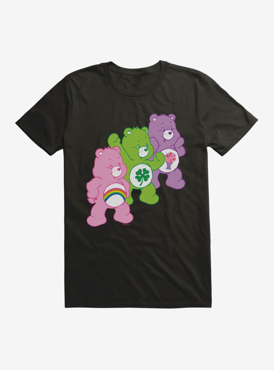 Care Bears Cheer Luck And Sharing T-Shirt