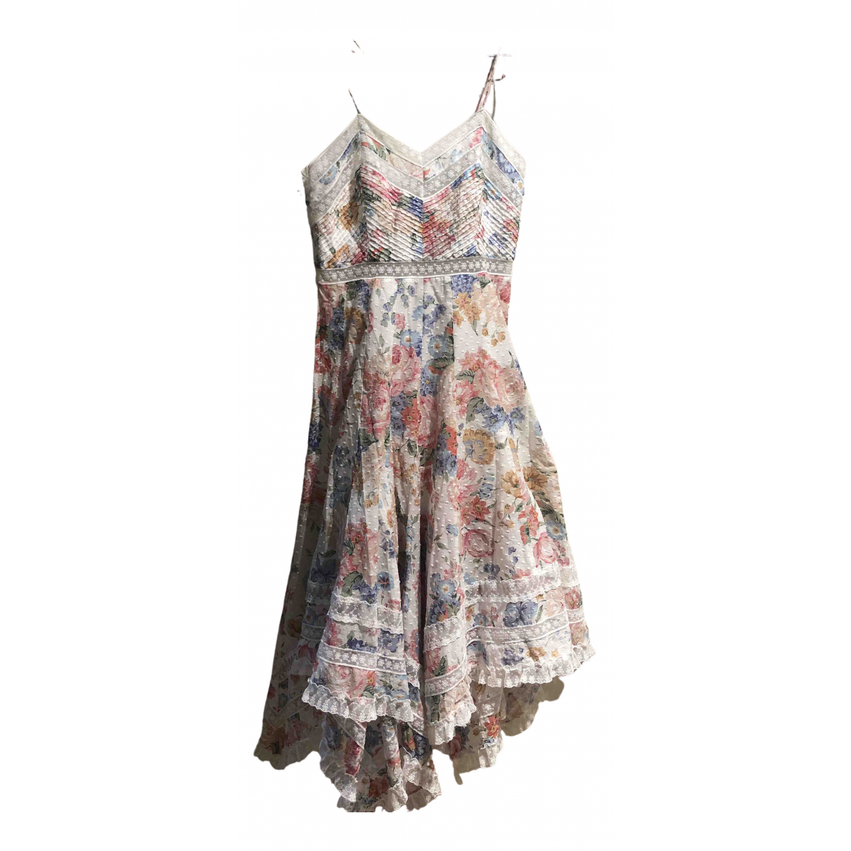 Zimmermann \N Multicolour Cotton dress for Women 1 0-5