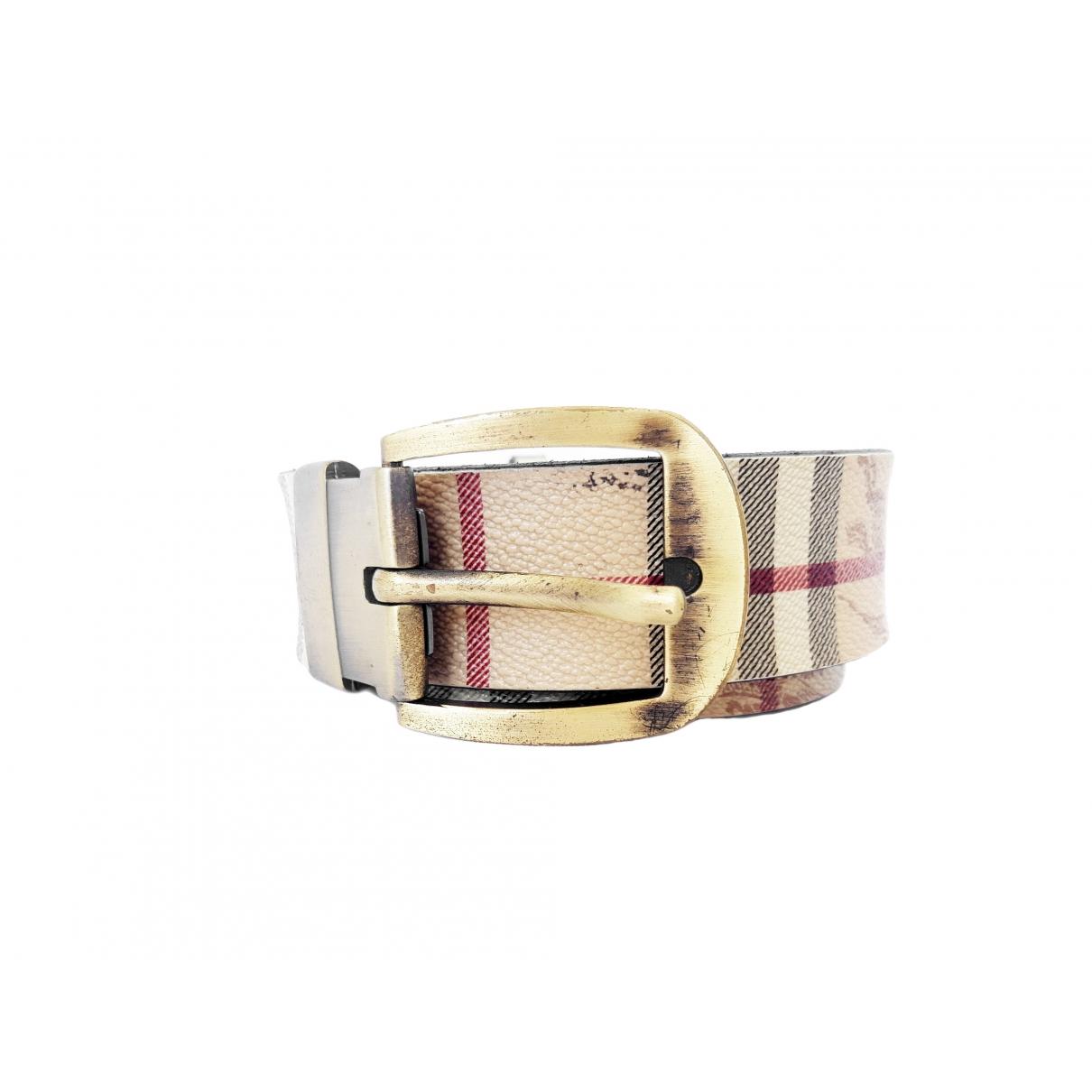 Burberry \N Cloth belt for Men 100 cm