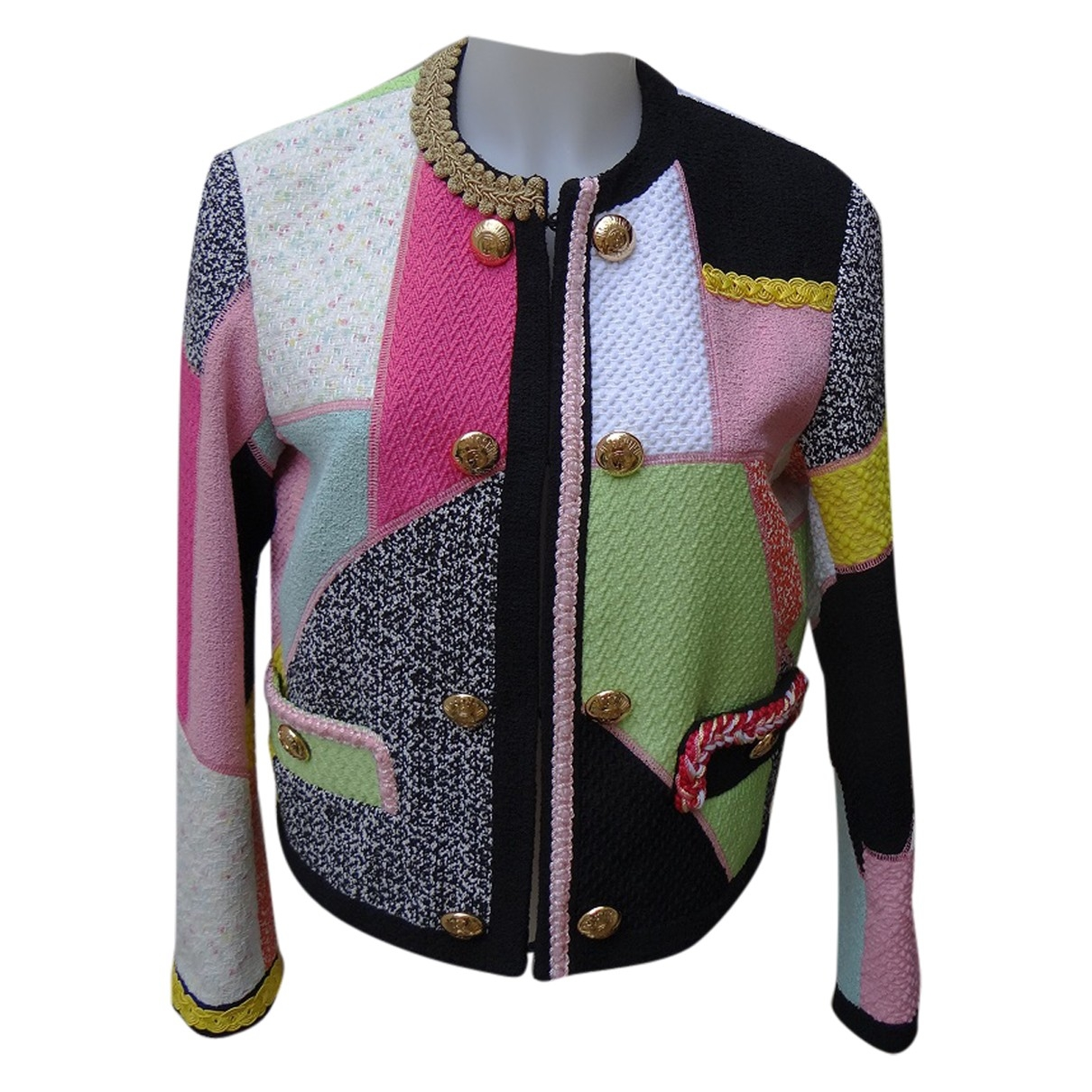 Moschino \N Multicolour Cotton jacket for Women 40 FR