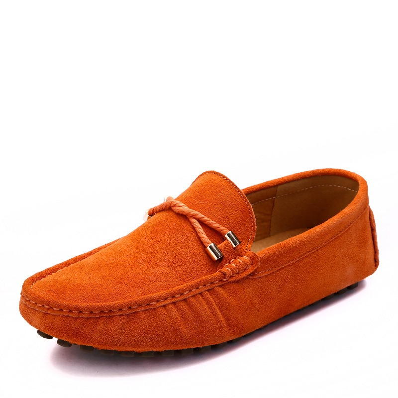 Ericdress Plain Round Toe Slip-On Men's Comfortable Shoes