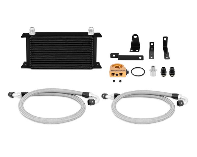 Mishimoto MMOC-S2K-00TBK Black Thermostatic Oil Cooler Kit Honda S2000 2.0L 00-03