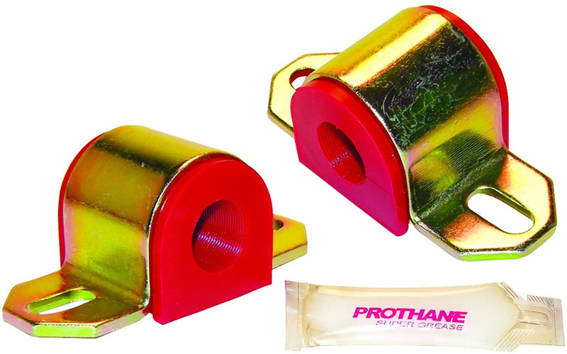 Prothane 19-1107 Universal Sway Bar Bushings - 13/16 for A Bracket - Red