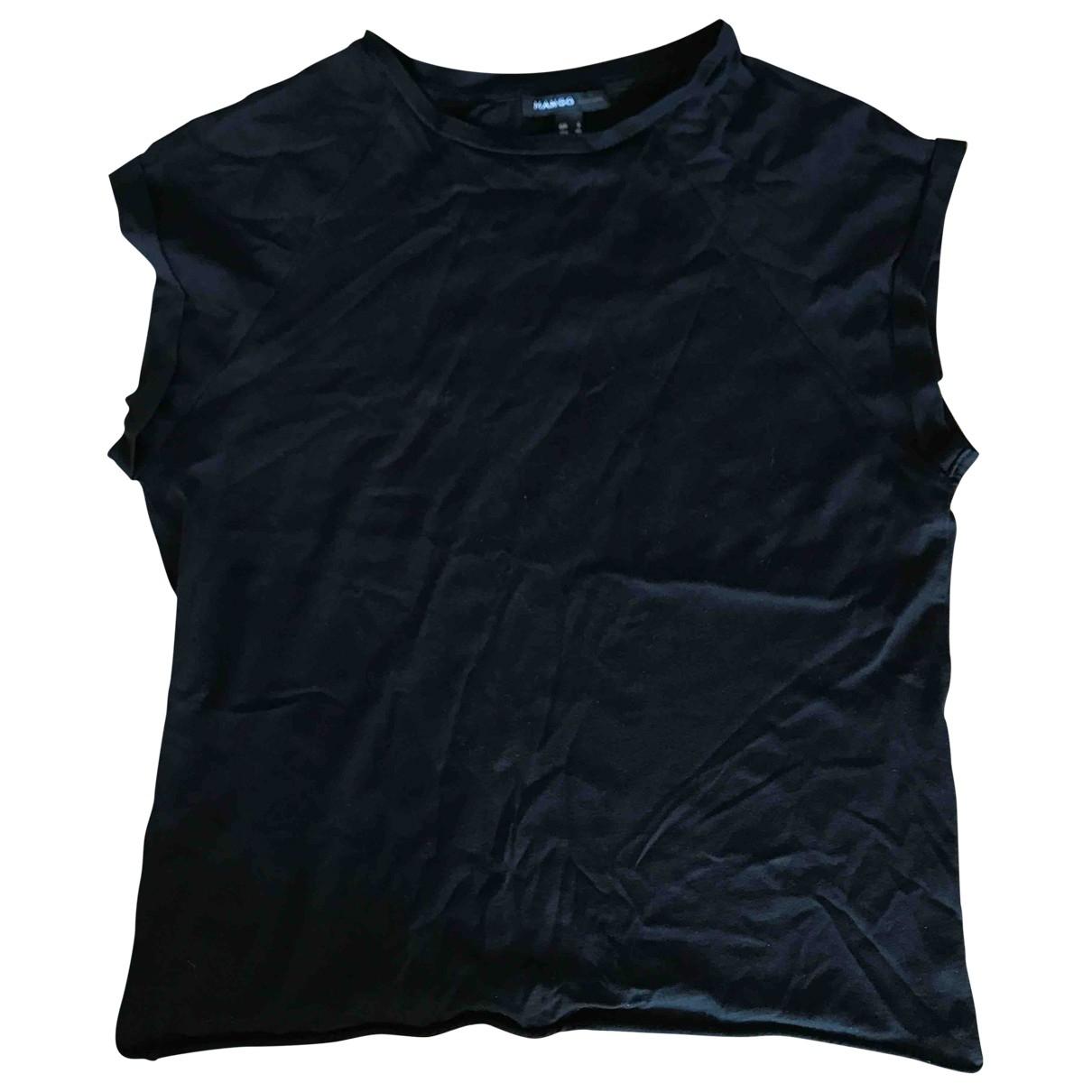 Mango \N Black Cotton  top for Women S International