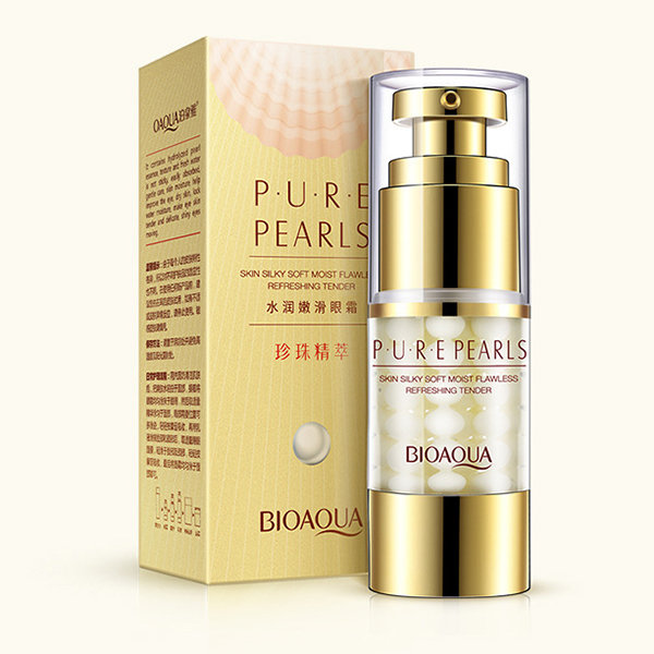 Pearl Collagen Hyaluronic Acid Serum Moisturizing Hydrating Anti Wrinkle Anti Aging Essence
