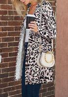 Leopard Long Sleeve Cardigan