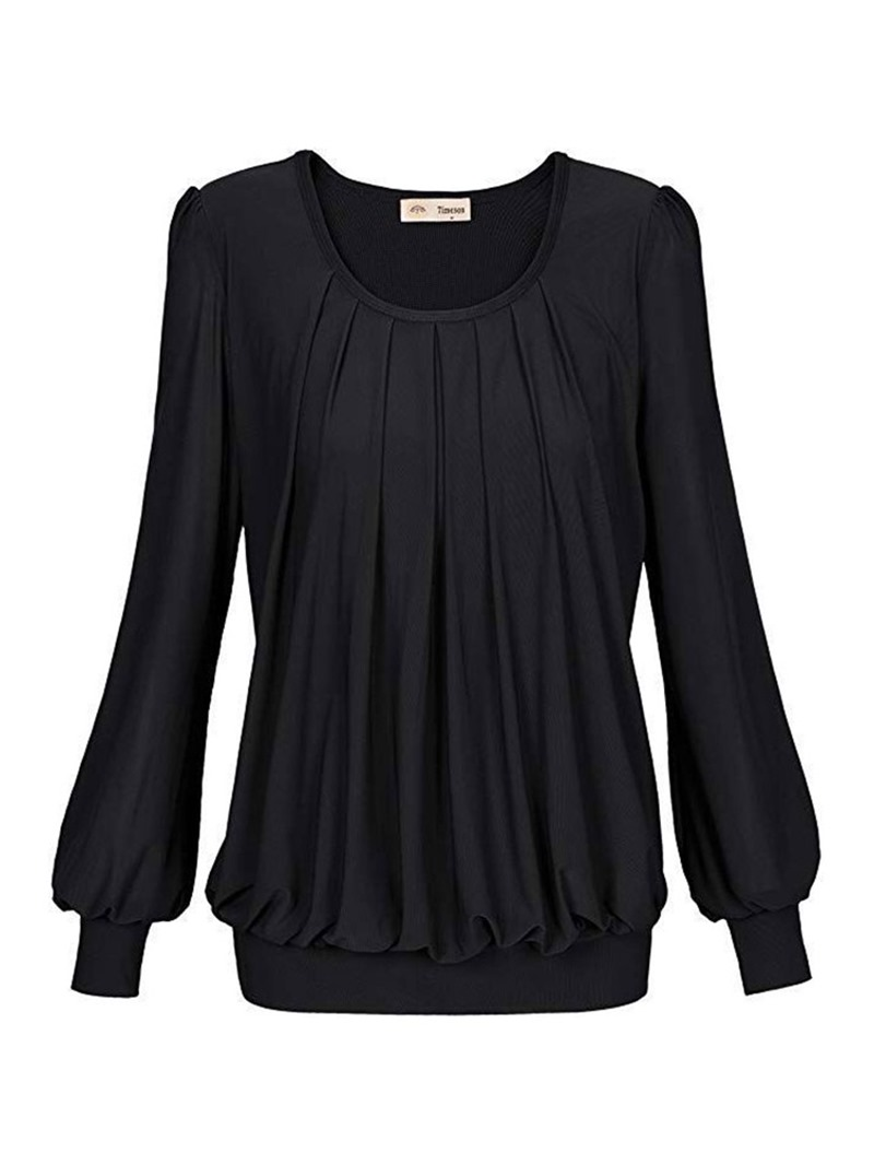 Ericdress Long Sleeve Round Neck Standard Casual Spring T-Shirt