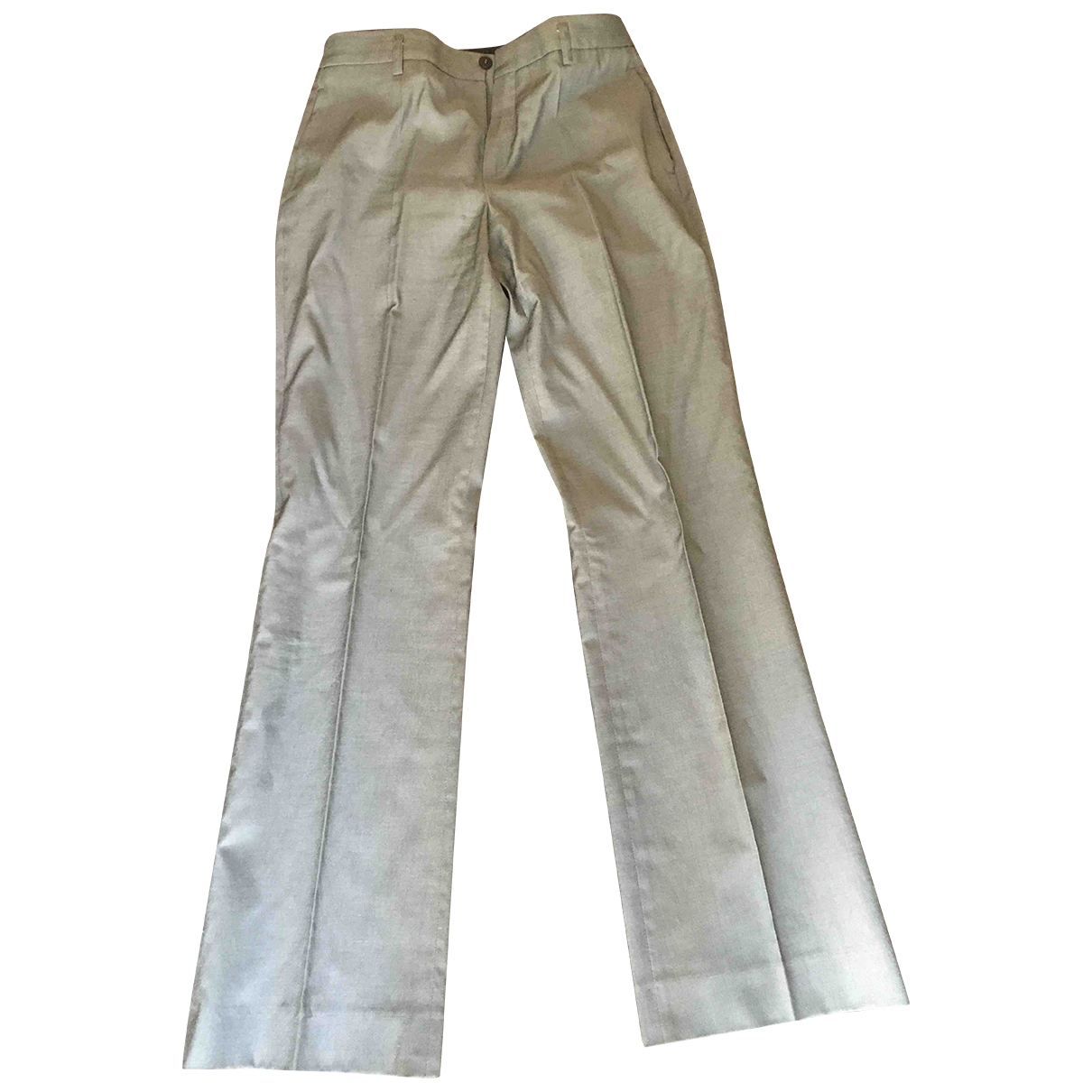 Strenesse \N Grey Trousers for Women 40 IT