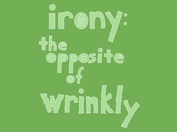 Irony T Shirt