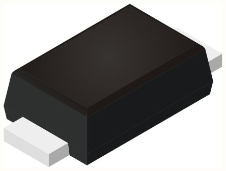 ROHM 30V 1A, SiC Schottky Diode, 2-Pin SOD-123FL RB162MM-30TR (100)