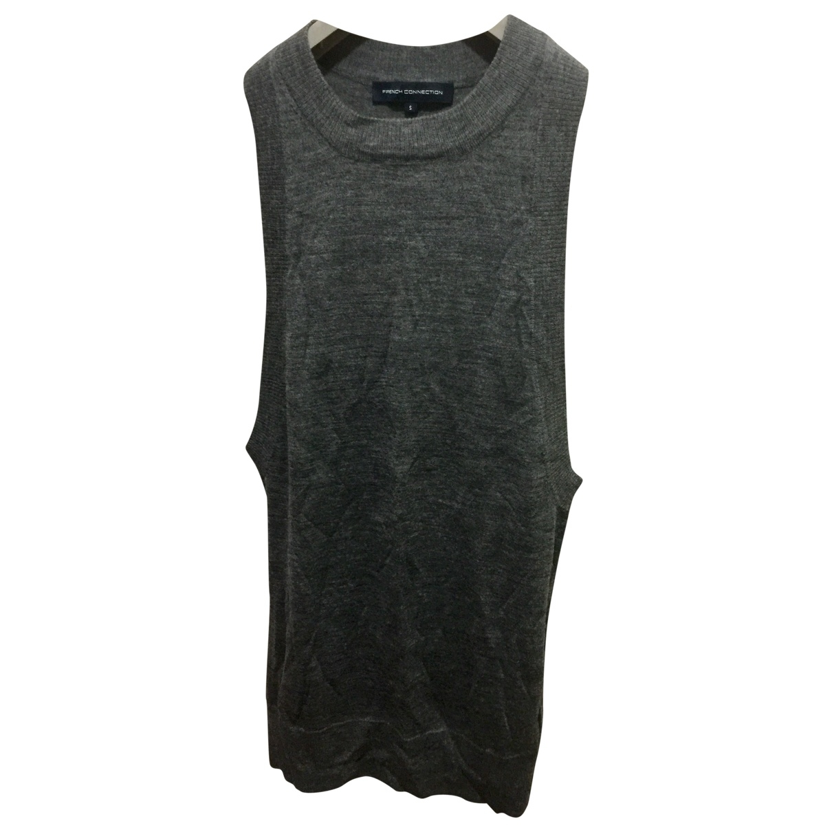 French Connection \N Grey Wool dress for Women S International