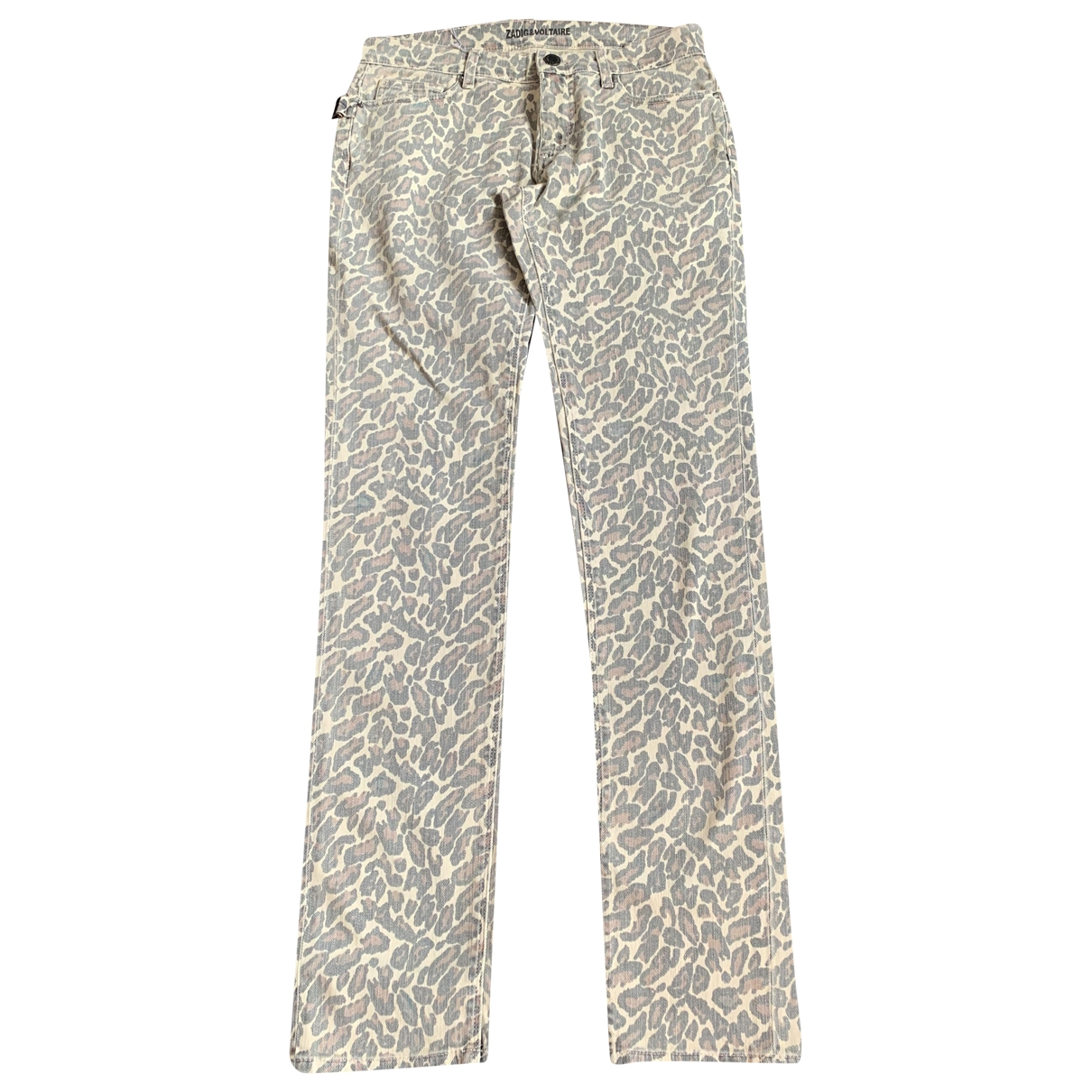Zadig & Voltaire \N Camel Cotton Jeans for Women 27 US
