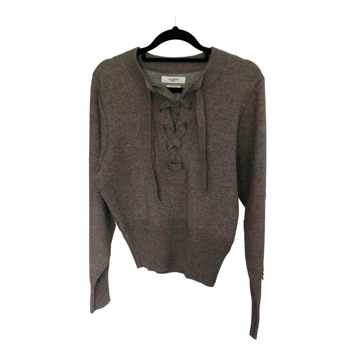 Isabel Marant Etoile \N Grey Cotton Knitwear for Women 36 FR