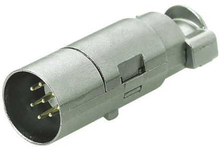 HARTING Han-Modular Male 5A High Density Quintax Male for use with 2 Contact Module