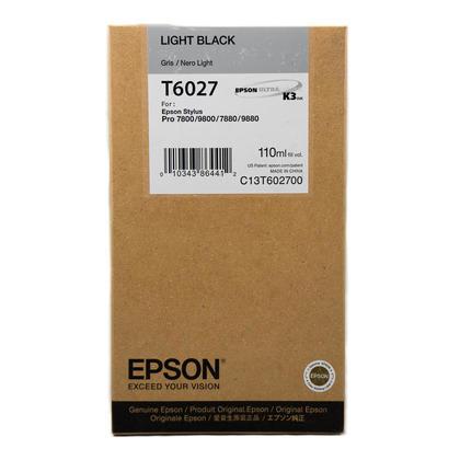 Epson T602700 Original Light Black Ink Cartridge
