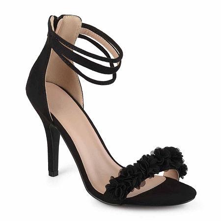 Journee Collection Womens Eloise Pumps Stiletto Heel, 10 Medium, Black