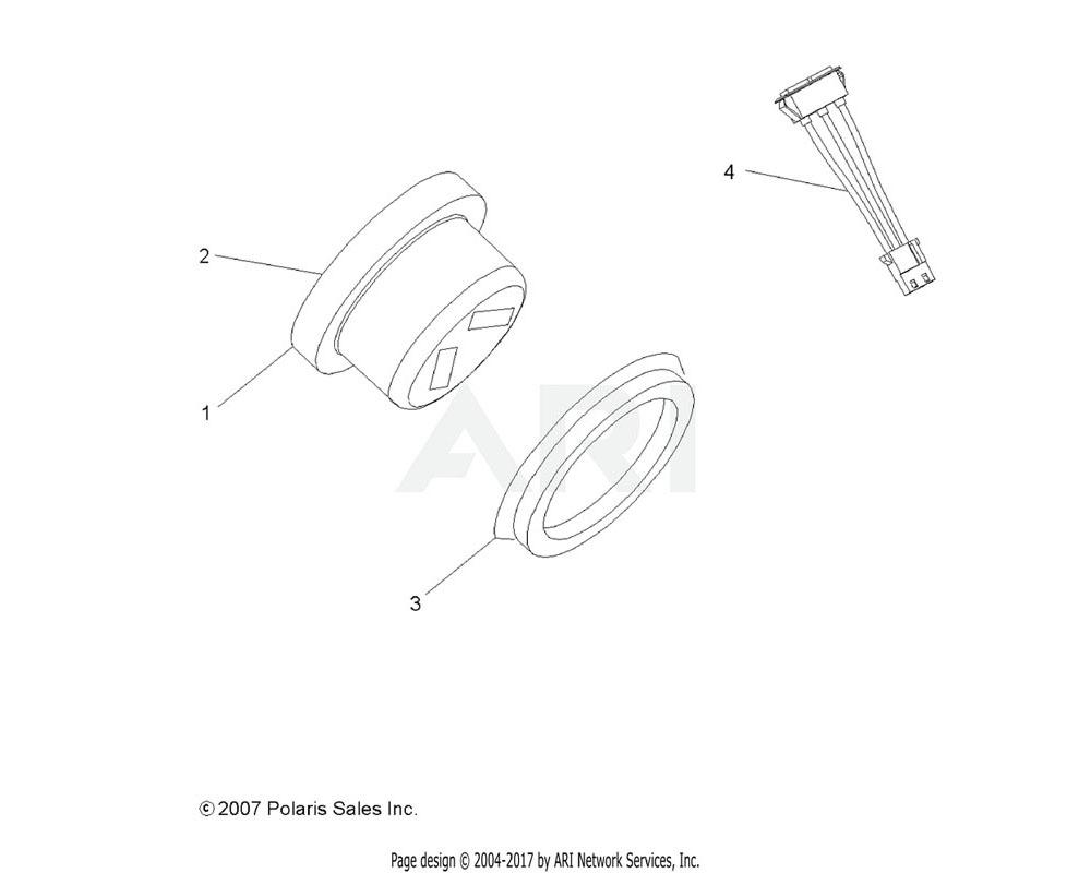 Polaris OEM 3280575 ASM., CLUSTER | [INCL. 3]