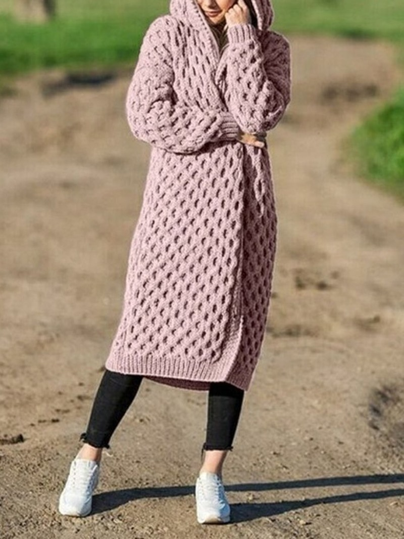 Ericdress Long Loose Women's Sweater