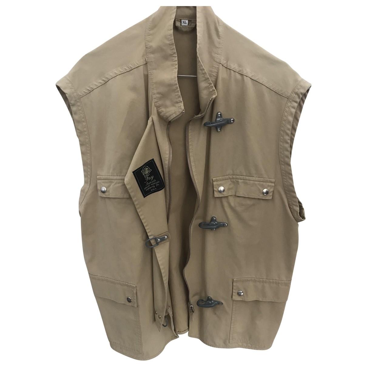 Fay \N Beige Cotton Knitwear & Sweatshirts for Men XL International