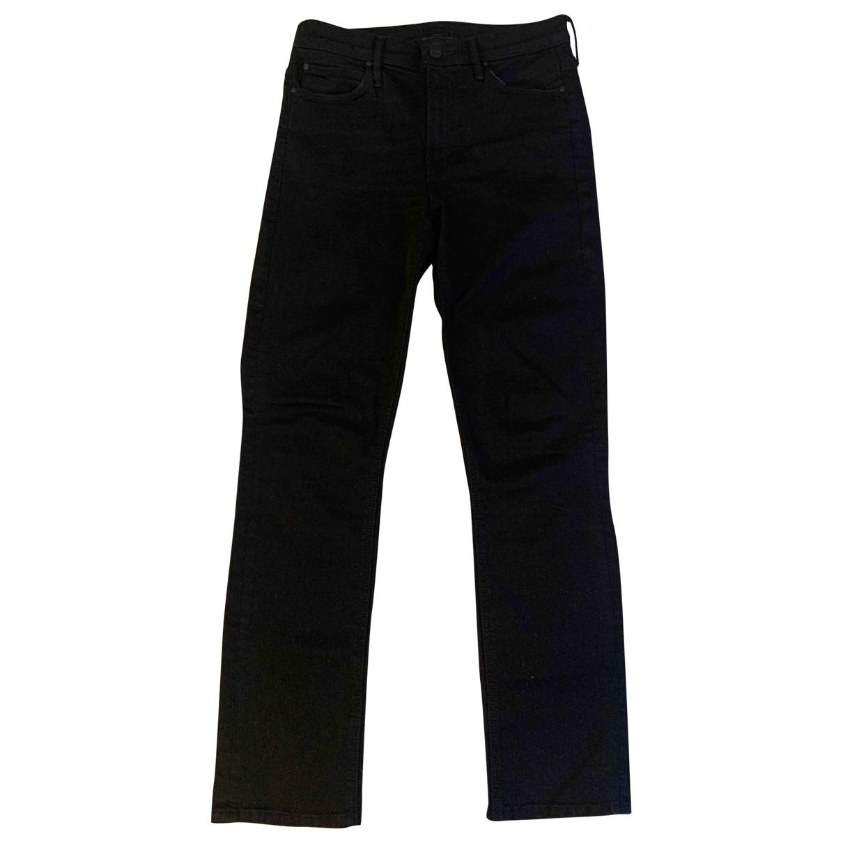 M\N Black Cotton - elasthane Jeans for Women 27 US