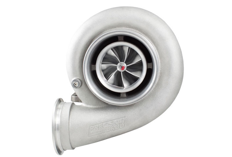 Precision Turbo & Engine 32209012329 PT7675 MFS JB Sportsman w/ T4 Divided Inlet/V-Band Discharge 1.12 A/R