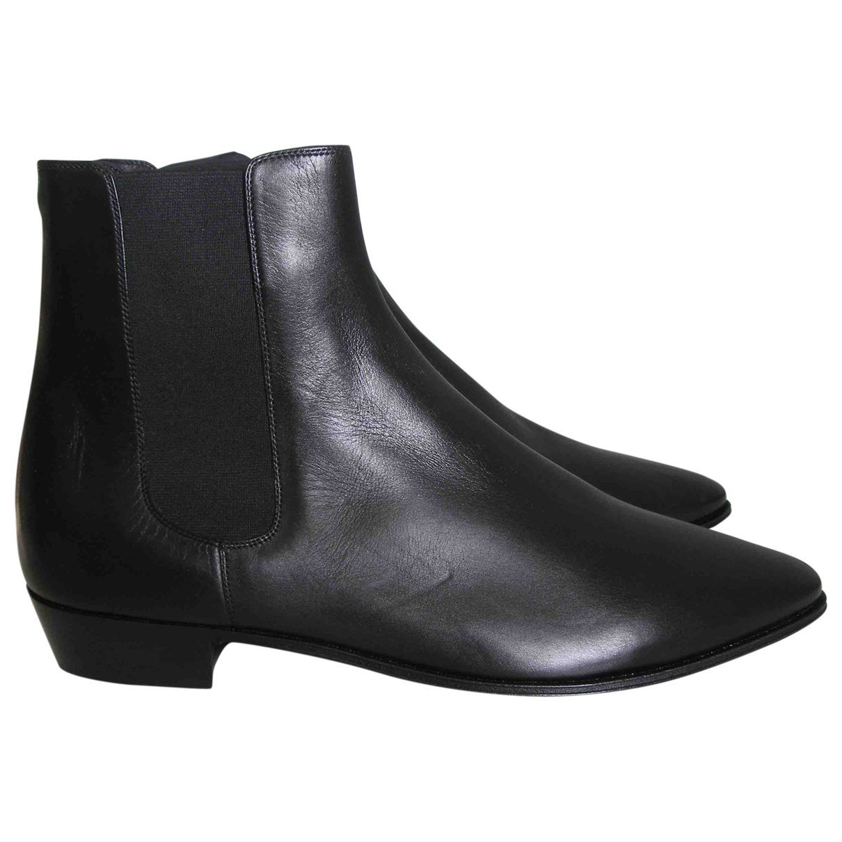 Celine \N Black Leather Boots for Women 42 EU