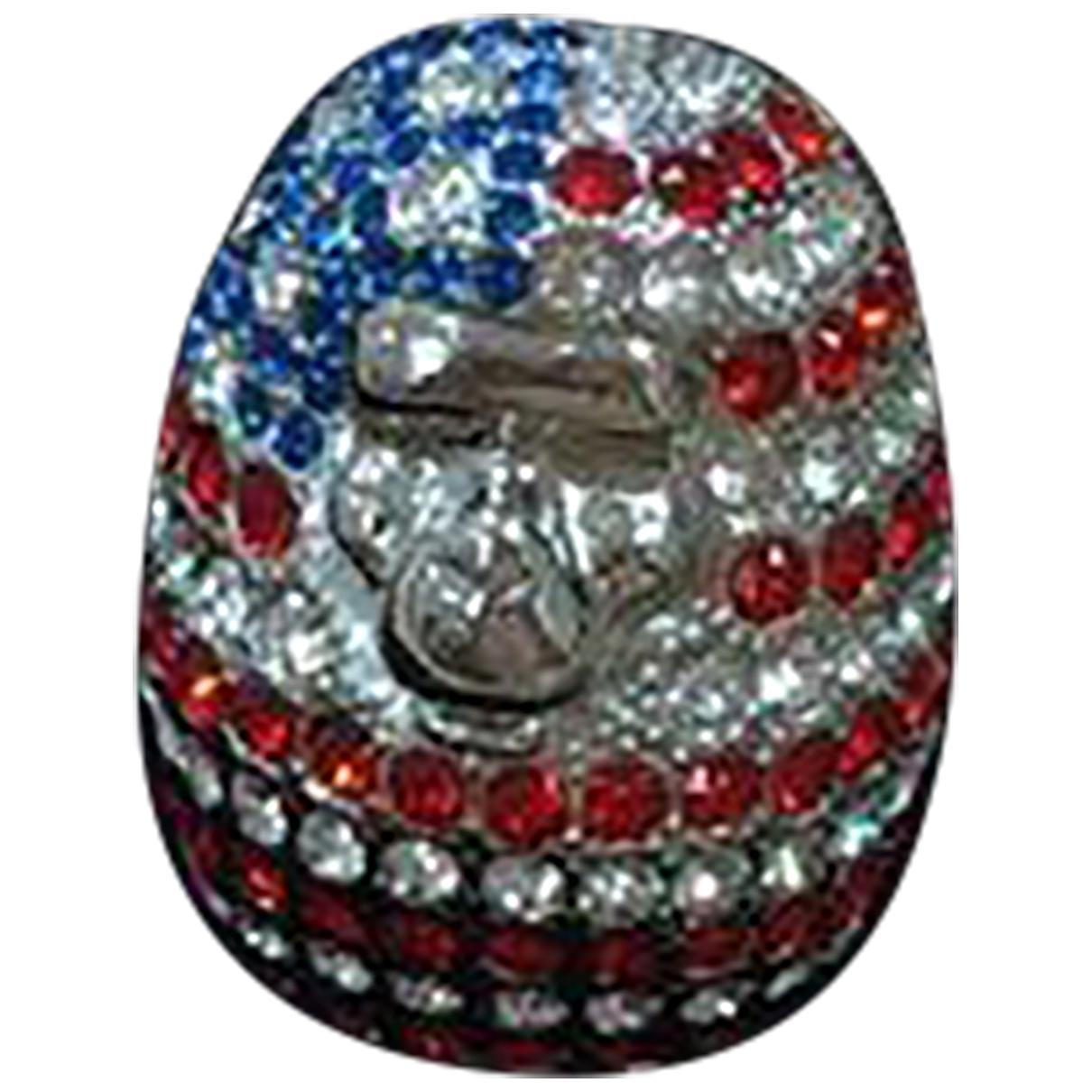 A Bathing Ape \N Multicolour Silver ring for Women \N