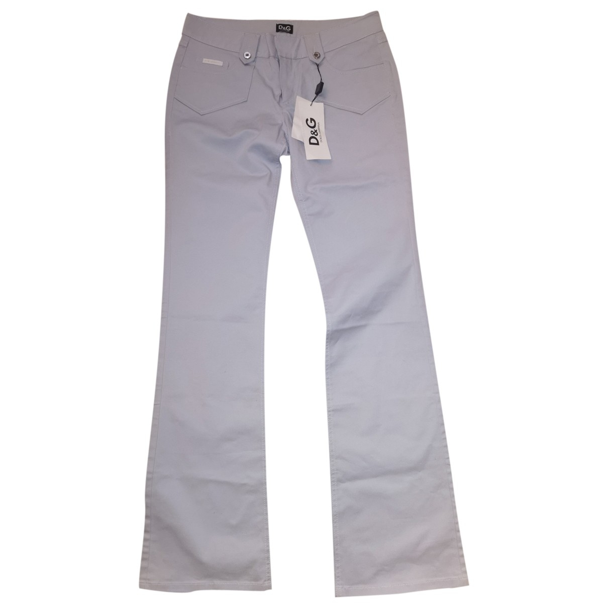 D&g \N Grey Cotton Jeans for Women 28 US