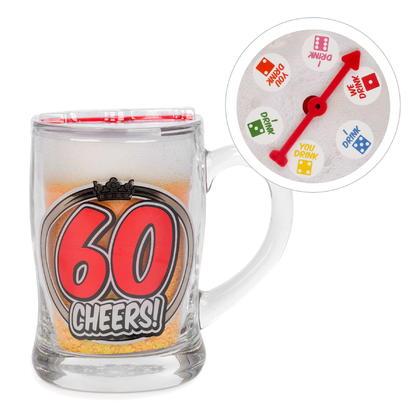Beer Mug - 60 cheers 3X5