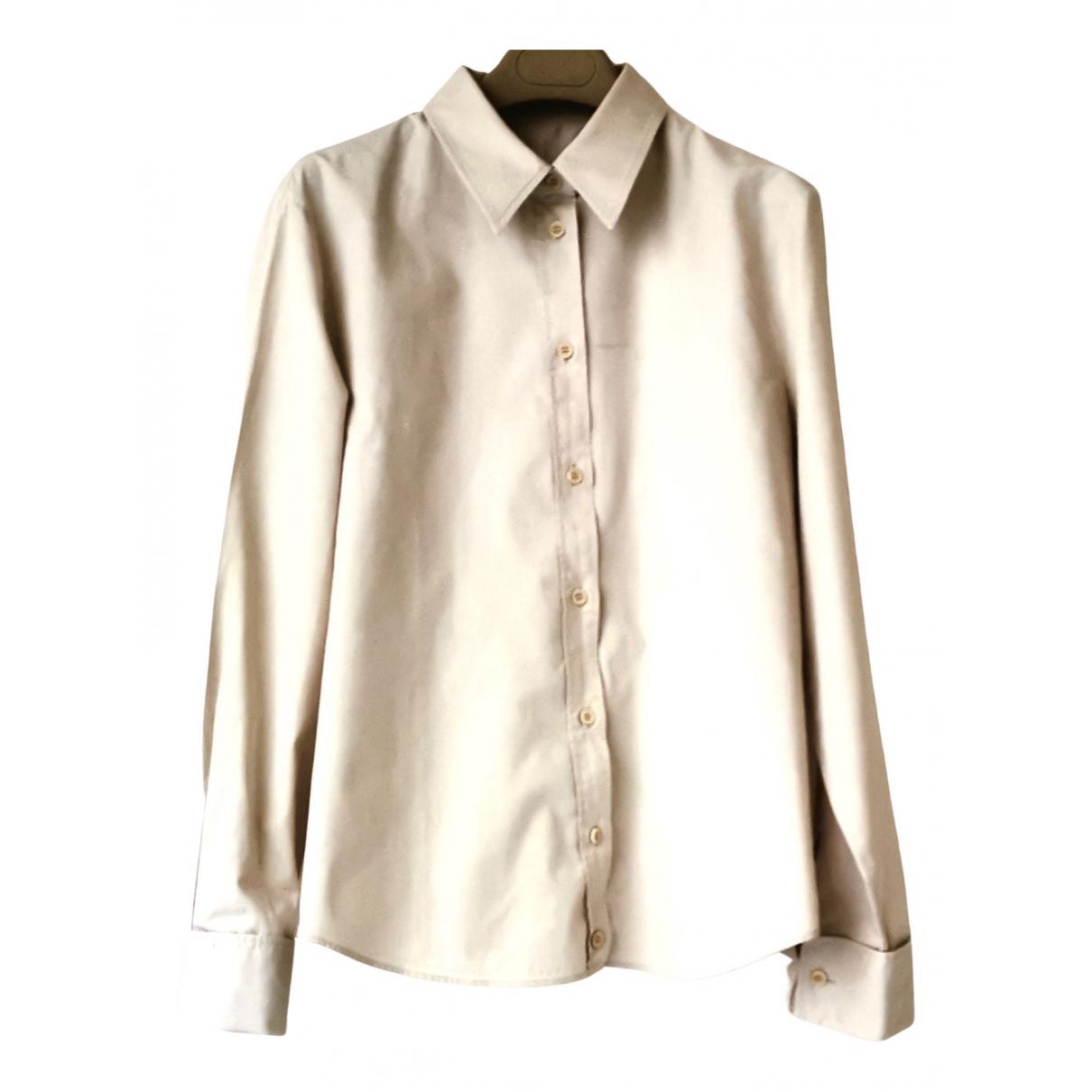 Boss \N Beige Cotton  top for Women 42 FR