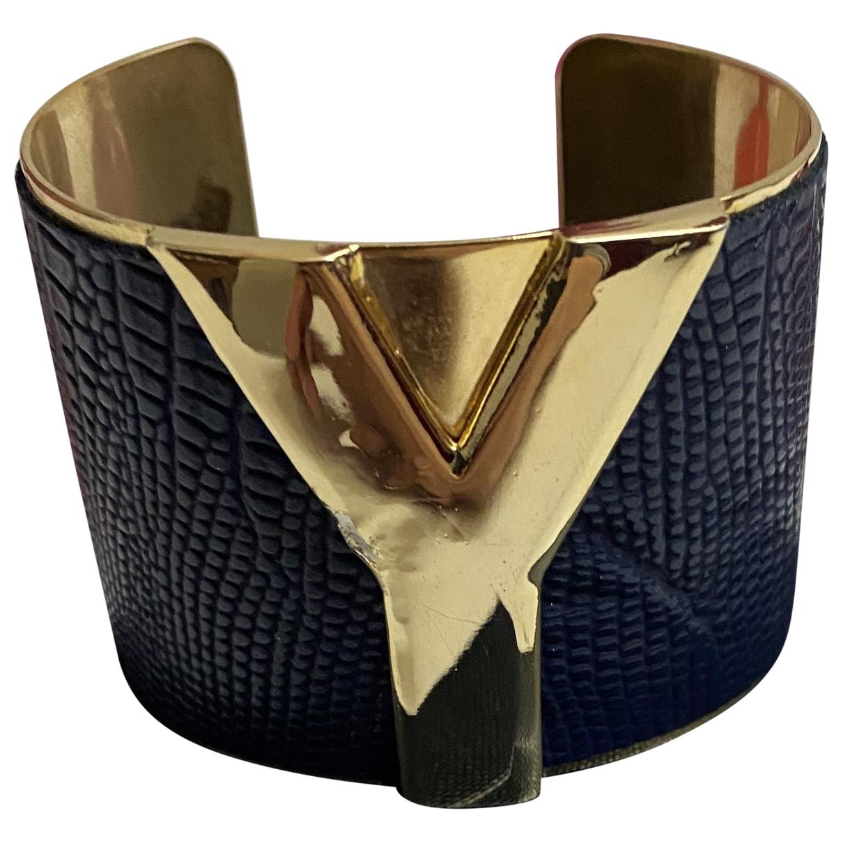 Saint Laurent \N Blue Metal bracelet for Women \N