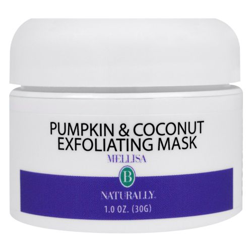 Exfoliating Mask Pumpkin Coconut 1 Oz by Mellisa B