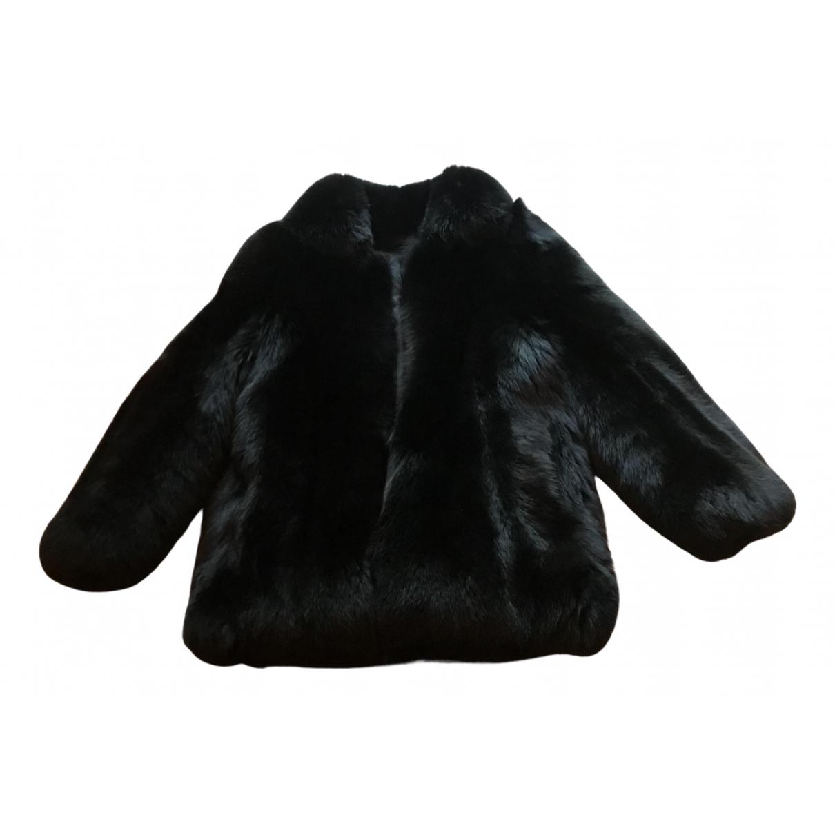 Rta \N Black Fox jacket for Women XS International