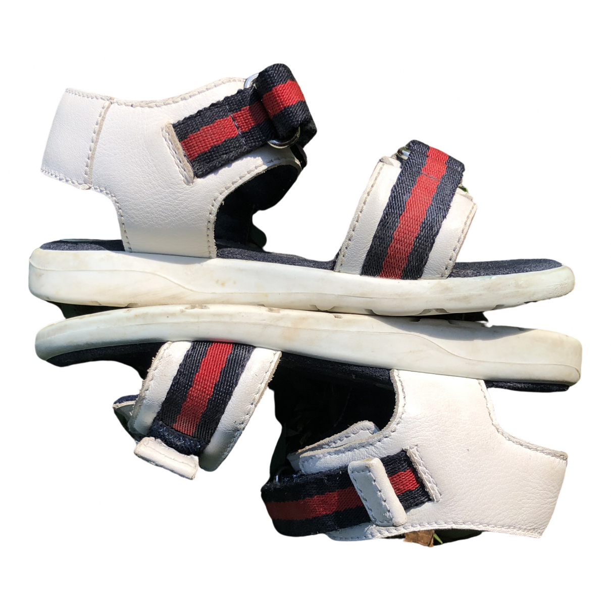 Gucci \N White Rubber Sandals for Kids 23 FR